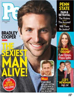 Bradley Cooper, People's 'Sexiest Man Alive 2011'
