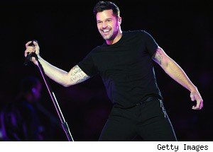 Ricky Martin Glee
