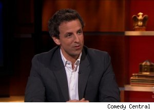 Seth Meyers, 'The Colbert Report'