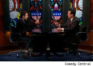 Elijah Wood, 'The Colbert Report'