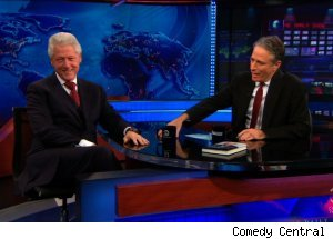 Bill Clinton, 'The Daily Show with Jon Stewart'