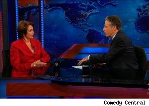 Nancy Pelosi, 'The Daily Show with Jon Stewart'