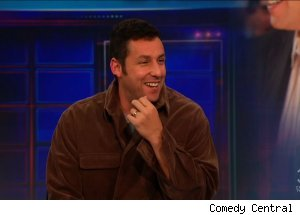 Adam Sandler, 'The Daily Show with Jon Stewart'