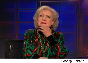 Betty White, 'The Daily Show with Jon Stewart'