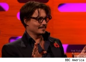 Johnny Depp, 'The Graham Norton Show'