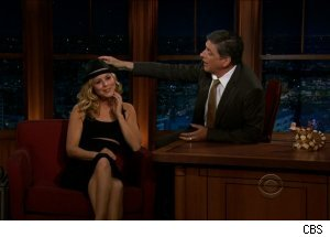 Maria Bello, 'The Late Late Show with Craig Ferguson'