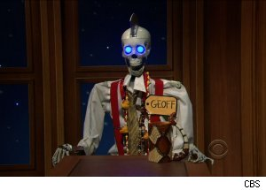 Larry King as Geoff, 'The Late Late Show with Craig Ferguson'