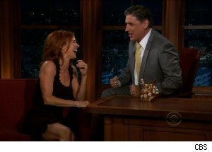 Poppy Montgomery, 'The Late Late Show with Craig Ferguson'