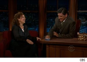 Alex Kingston, 'The Late Late Show with Craig Ferguson'