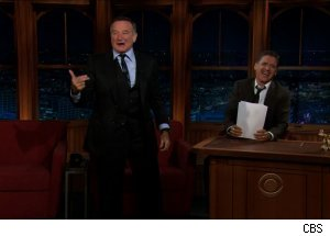 Robin Williams, 'The Late Late Show with Craig Ferguson'