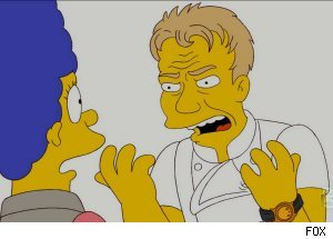 Gordon Ramsay, 'The Simpsons'