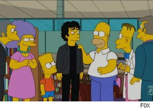 Neil Gaiman, 'The Simpsons' - 'The Book Job'
