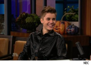 Justin Bieber, 'The Tonight Show with Jay Leno'