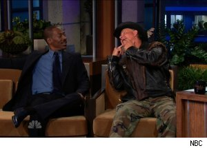 Eddie Murphy &amp; Ernie 'Turtleman' Brown Jr., 'The Tonight Show with Jay Leno'