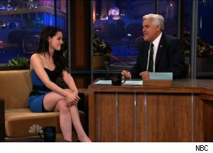 Kristen Stewart, 'The Tonight Show with Jay Leno'