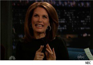 Michele Bachmann on 'Late Night'
