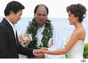 A 'Hawaii Five-0' wedding