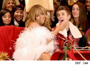 Was the Justin Bieber & Mariah Carey 'All I Want for Christmas' Video Too Risque for NBC Tree Lighting?