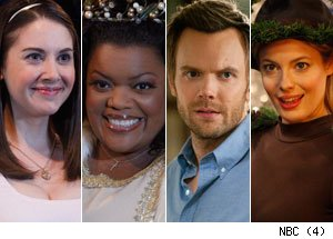 Alison Brie, Yvette Nicole Brown, Joel McHale &amp; Gillian Jacobs, 'Community'
