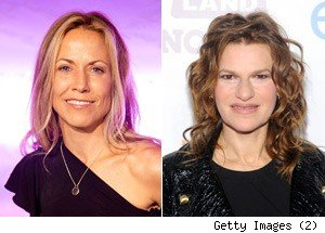 Sheryl Crow, Sandra Bernhard GCB