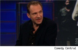 Ralph Fiennes, 'Daily Show'