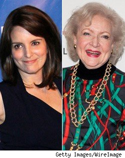 Tina Fey Betty White Grammys