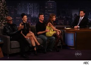 'The X Factor' judges, 'Jimmy Kimmel Live'