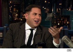 Jonah Hill, 'Late Show with David Letterman'