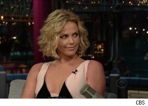 Charlize Theron, 'Late Show with David Letterman'