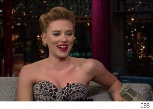 Scarlett Johansson, 'Late Show with David Letterman'