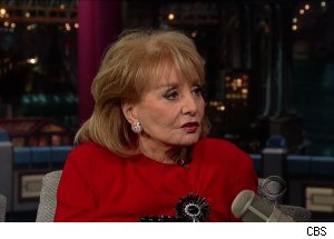 Barbara Walters, 'Late Show with David Letterman'