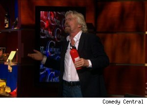 Richard Branson, 'The Colbert Report'