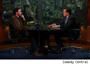 Jimmie Johnson, 'The Colbert Report'