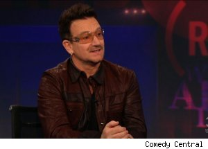 Bono, 'The Daily Show with Jon Stewart'