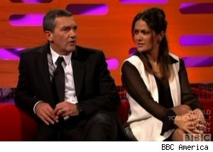 Antonion Banderas &amp; Salma Hayek, 'The Graham Norton Show'
