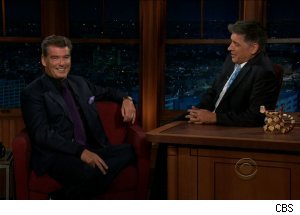 Pierce Brosnan, 'The Late Late Show with Craig Ferguson'