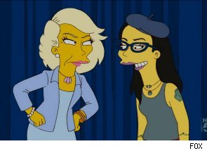 Joan Rivers and Janeane Garofalo, 'The Simpsons'