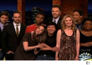 'Community' cast - 'The Soup'