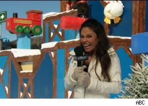 Vanessa Lachey, 'Winter Wipeout: Deck the Balls'