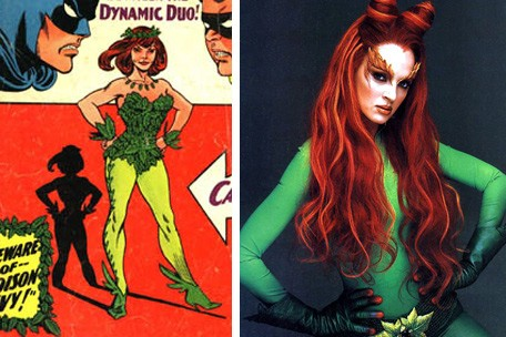 poison ivy villain pictures. poison ivy villain comic.