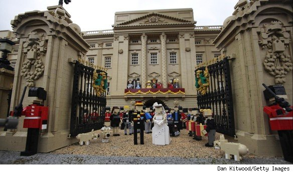 royal wedding lego. the Royal Wedding thing.