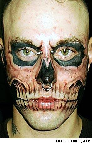disturbed tattoo. He must be