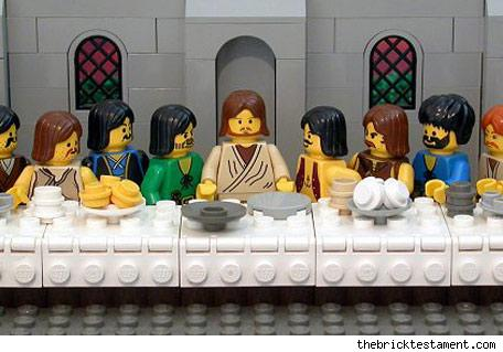 On the 8th Day, God Gave Us LEGO