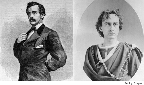 John Wilkes Booth and Abraham Lincoln