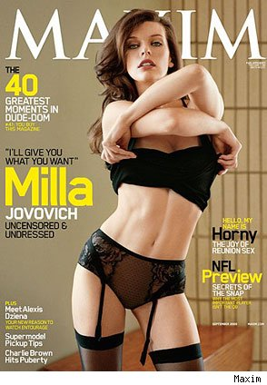 Milla Jovovich And Naked. 2009 -- Milla Jovovich