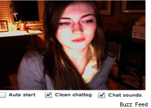 Mystery Maiden on Chatroulette