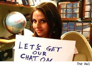 Genevieve on Chatroulette