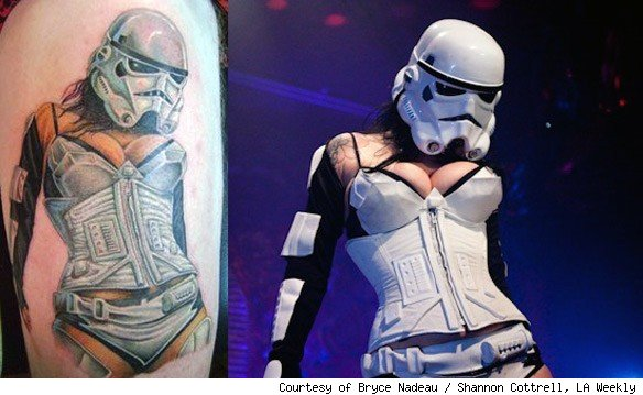 Red Rocket Tattoo. star wars 584 The Best Tattoo Shops in NYC 2011