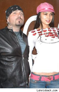 Evan Seinfeld with Tera Patrick