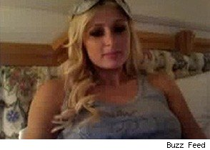 Paris Hilton on Chatroulette